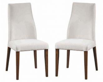 Jídelní čalouněná židle SOLARO (2ks) Cayenne výběr barev