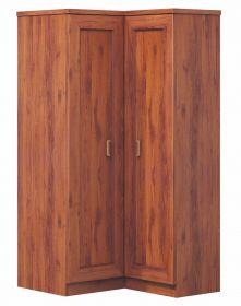 Rohová šatní skříň TADEÁŠ T-25 dub stoletý