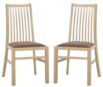 Jídelní čalouněná židle VOLANO 101 (2ks) sonoma