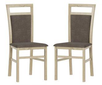 Čalouněná židle LUSIA 101 (2ks) sonoma