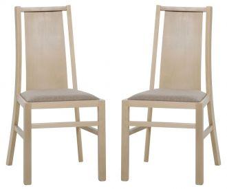 Jídelní čalouněná židle VOLANO 111 (2ks) sonoma
