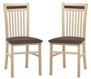 Čalouněná židle VOLANO 131 (2ks) sonoma