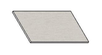 Kuchyňská pracovní deska 30 cm aluminium mat