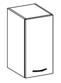 W30 horní skříňka jednodveřová KARMEN pravá
