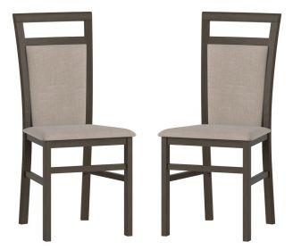 Čalouněná židle LUSIA 101 (2ks) wenge