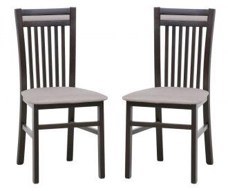 Čalouněná židle VOLANO 131 (2ks) wenge/etna 15
