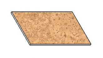 Kuchyňská pracovní deska 40 cm korek