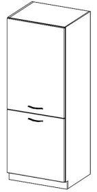 DG40 potravinová skříň GREY levá