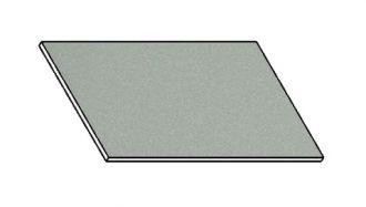 Kuchyňská pracovní deska 40 cm šedý popel (asfalt)
