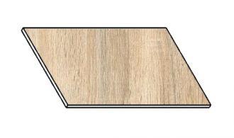 Kuchyňská pracovní deska 60 cm dub sonoma