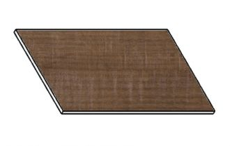 Kuchyňská pracovní deska 80 cm dub balara