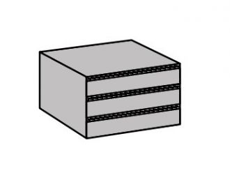Vnitřní zásuvky 990 do skříně šířka 73 cm