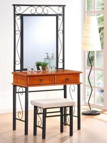 Toaletní stolek CEBU se zrcadlem