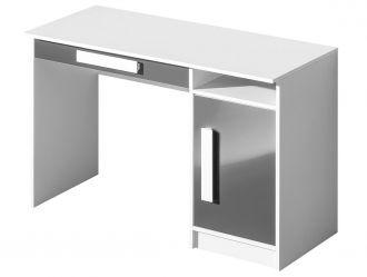 Pracovní stůl GULLIWER 9 bílá/šedá lesk