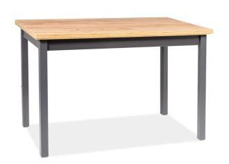 Jídelní stůl ADAM 100x60 dub lancelot/antracit