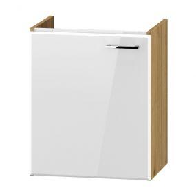 DUM VEA 49 P/L skříňka pod umyvadlo DUNDALK bílá lesk