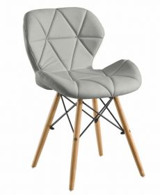 Jídelní židle BOSSE šedá
