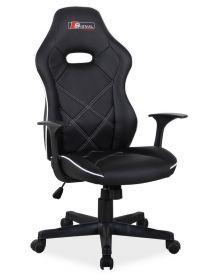 Kancelářské křeslo BOXTER černá/bílá