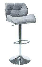 Barová židle C-122 světle šedá