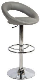 Barová židle KROKUS C-300 šedá