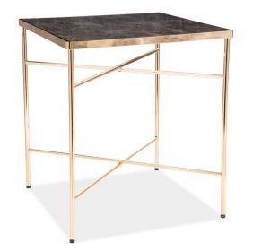Konferenční stolek CALI mramor/zlatá