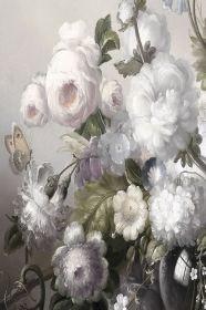 Skleněný obraz FLOWERS II 80x120 cm