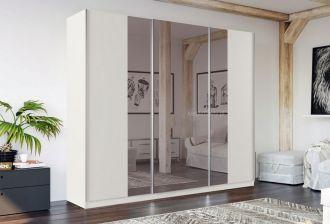 Šatní skříň WATERLOO 250 bílá/bílá