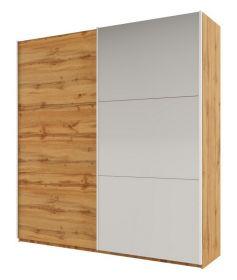 Šatní skříň RICHMOND 225 dub wotan/dub wotan