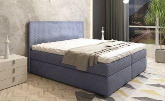 Čalouněná postel s ÚP LUNAR 140 MO70 PIK