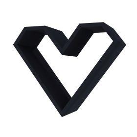 Police ve tvaru srdce ARIZA barva černá