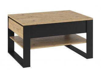 Konferenční stolek KANTA 09 dub artisan/černá