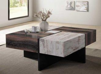 Konferenční stůl COBE 3D fólie dekor dřeva