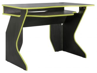 Pracovní stůl BASIS černá/limeta