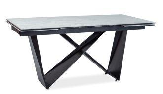 Jídelní stůl rozkládací CAVALLI II ceramic/černá