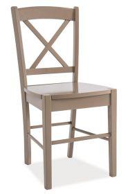 Jídelní dřevěná židle CD-56 hnědá