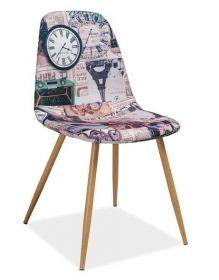 Jídelní čalouněná židle CITI Paříž