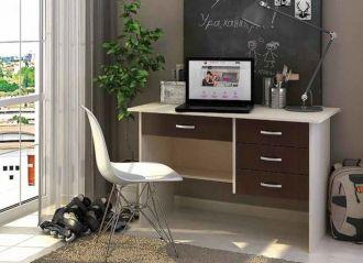 Pracovní stůl CITI 4S wenge/dub belfort