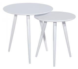 2SET konferenční stolky CLEO bílá