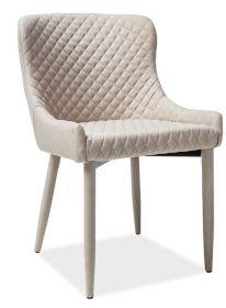 Křeslo-židle čalouněná COLIN béžová