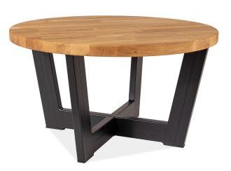 Konferenční stolek CONO B dub masiv/černá
