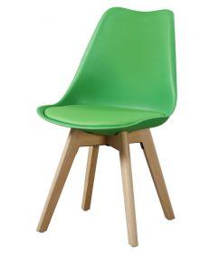 Jídelní židle CROSS II zelená