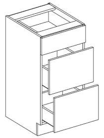 D40S3 dolní skříňka se zásuvkami GOBI