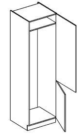 DL60P skříňka na vestavnou lednici NORA hruška