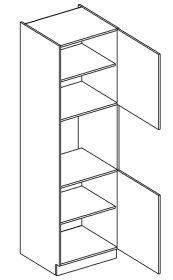 DKS60P vysoká skříňka COSTA na vestavbu trouby