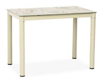Jídelní stůl DAMAR krémový