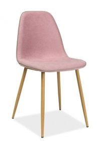 Jídelní židle DUAL růžová