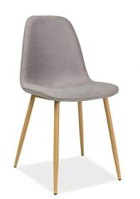 Jídelní židle DUAL šedá