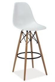Barová židle ENZO H1 bílá
