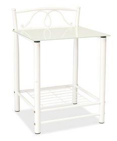 Noční stolek ET-920 bílý