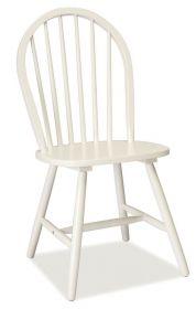 Jídelní dřevěná židle FIERO bílá